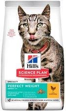 Hills Feline Adult Perfect Weight mit Huhn
