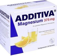 Scheffler Additiva Magnesium 375 mg Granulat Orange (20 Stk.)