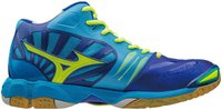 Mizuno Wave Tornado X Mid diva blue/safety yellow/surf the web