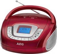 AEG Unterhaltungselektronik SR 4373 rot