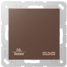 Jung CD RTR mit CO2/Luftfeuchte-Sensor KNX mocca (CO2 A 2178 MO)