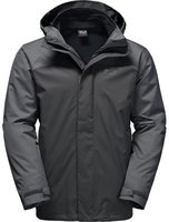 Jack Wolfskin Echo Lake Men 3 in 1 dark iron