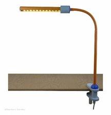 Niermann LED Klemmleuchte pastellorange/eisblau