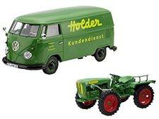 """Schuco Set  """"Holder """", Holder A20 mit VW T1b Kastenwagen (450894100)"""