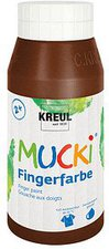 C. Kreul Mucki Fingerfarbe 750 ml braun