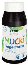 C. Kreul Mucki Fingerfarbe 750 ml schwarz