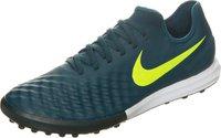 Nike MagistaX Finale II TF midnight turquoise/volt/hasta/gum light brown