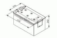 Bosch Automotive 12V 225Ah (0 092 TE0 800)