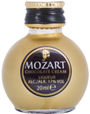 Mozart Chocolate Cream Gold 17%