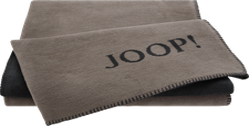 Joop! Uni-Doubleface 150x200cm taupe/anthrazit