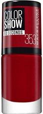 Maybelline Color Show Nailpolish - 353 Red (7 ml)