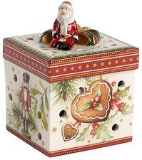 Villeroy & Boch Christmas Toys Gechenkpaket klein eckig Weihnachtsmarkt 9cm