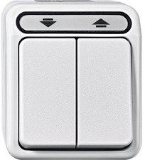 Merten Rolladenschalter 2-fach lichtgrau (MEG3715-8019)