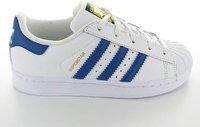 Adidas Superstar Foundation Jr white/blue/white (BA8383)