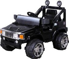 Actionbikes Kinder Elektroauto Hummer Jeep A30 Schwarz