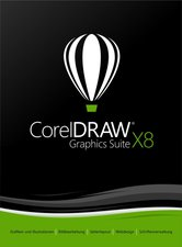 Corel Draw Graphics Suite X8 Small Business (DE) (Box)