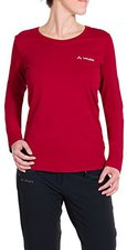 Vaude Women's Brand LS Shirt indian red