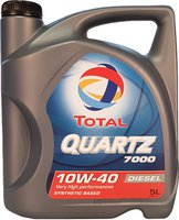 TOTAL Automotive Quartz 7000 Diesel 10W-40 (5 l)