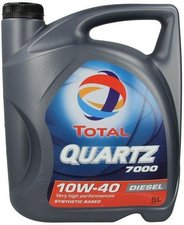 TOTAL Automotive Quartz 7000 Diesel 10W-40 (5 l)
