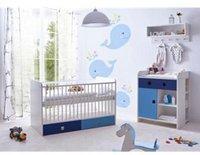 Ticaa Cubo Babyzimmer 3-tlg. blau