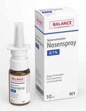 GEHE Xylometazolin Nasenspray 0,1% Balance (10 ml)