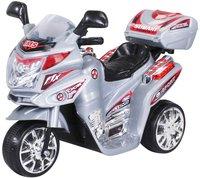 Actionbikes Kinder Elektroauto Motorrad C051 Silber