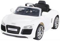 Actionbikes Kinder Elektroauto Audi R8 Spyder Weiß