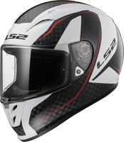LS2 Helmets FF323 Arrow C Evo Carbon Fury white