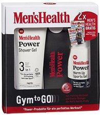 Mens Health Power Gym to Go Set (SG 200ml + SG 150ml)