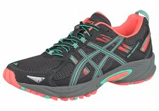 Asics Gel-Venture 5 Women black/aqua mint/flash coral