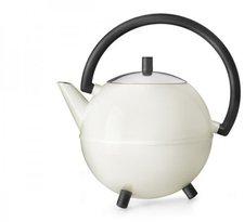 Bredemeijer Teekanne Saturn 1,2 l weiß