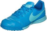Nike Tiempo Legend VI TF Jr blue glow/polarized blue/soar