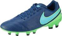 Nike Tiempo Genio II Leather FG coastal blue/polarized blue/rage green
