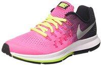 Nike Air Zoom Pegasus 33 GS hyper pink/black/volt/mettalic silver