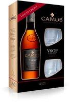 Camus VSOP Elegance mit 2 Gläsern 0,7l