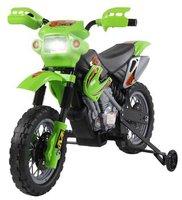 HomCom Elektromotorrad grün (52-0015)