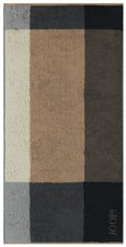 Joop! Graphic Squares Saunatuch piment (80x200cm)