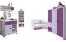 Ticaa Cubo Babyzimmer 5-tlg. lila