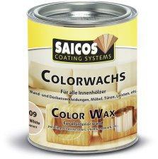Saicos Colorwachs 0,75 l weiß transparent