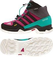 Adidas Terrex Mid GTX K mineral red/bold pink/core black