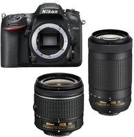 Nikon D7200 Kit 18-55 mm + 70-300 mm