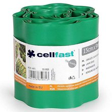 Cellfast Rasenkante 9 m x 15 cm grün