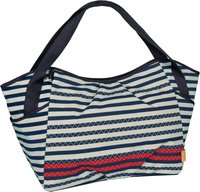Lässig Casual Twin Bag Striped Zigzag navy
