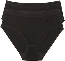 Triumph Cotton Basics Mod Midi Damen-Slip schwarz