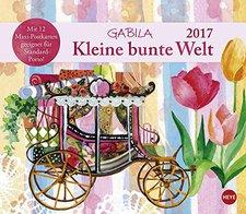 Heye Gabila Kleine bunte Welt Maxi Postkartenkalender 2017