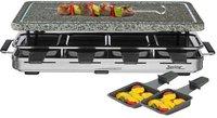 Spring Switzerland Raclette 8 mit Granitplatte schwarz