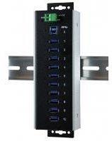 Exsys 10 Port USB 3.0 Hub (EX-1110HMVS-WT)