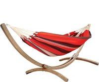 Lola Hängematten Rio Grande Aruba elegance red-black-white