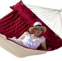 Lola Hängematten Luxus American Hammock Lifestyle Fuego Red