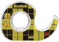 Scotch CAT136 Klebeband mit Abroller 12,7mm x 3,6m transparent